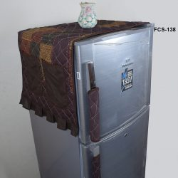 Fridge cover brown Mix color