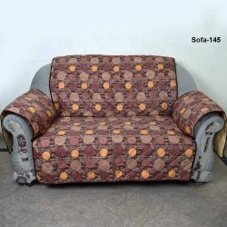 sofa coat brown dot