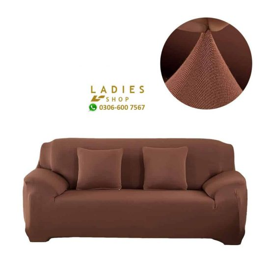 jersey sofa light brown
