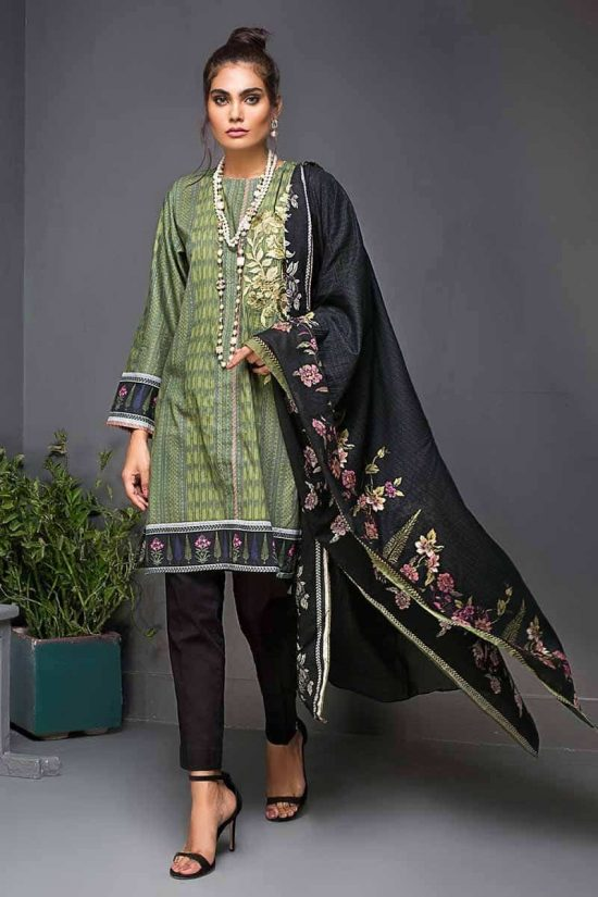 Gul Ahmed winter collection 2019